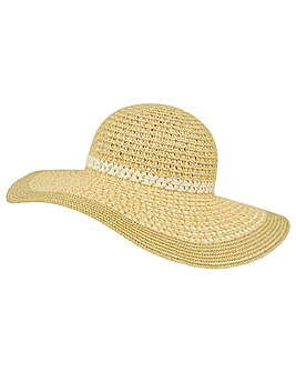 Monsoon Lana Lurex Floppy Hat