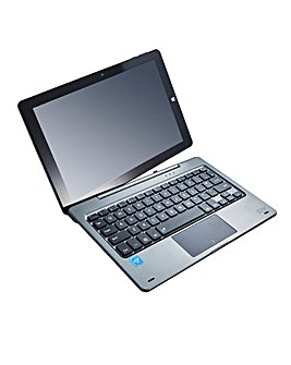 JDW 10.1in 2 IN 1 Laptop Grey