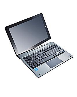 JDW 10.1in 2 IN 1 Laptop Grey