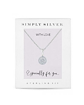Simply Silver Sterling Silver 925 Set