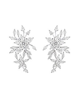 Jon Richard Floral Starburst Earring