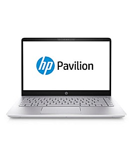 HP Pavilion 14in i5 8Gb Laptop Silver