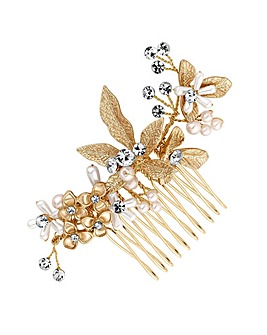 Jon Richard Layla Soft Leaf Hair Comb