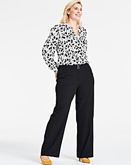 Shape & Sculpt Wide Leg Trousers Long