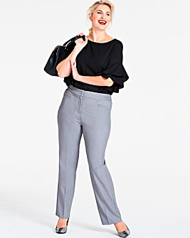 Shape & Sculpt Straight Trousers Petite