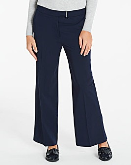 Workwear Wide Leg Trousers Long