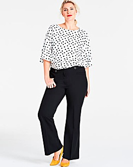 Shape & Sculpt Bootcut Trousers Long