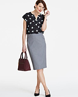 Shape & Sculpt Pencil Skirt