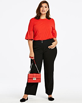 Shape & Sculpt Wide Leg Trousers Regular