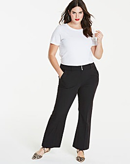 Workwear Bootcut Trousers