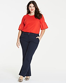 Workwear Bootcut Trousers Long