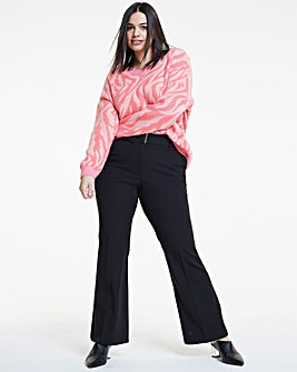 Workwear Bootcut Trousers