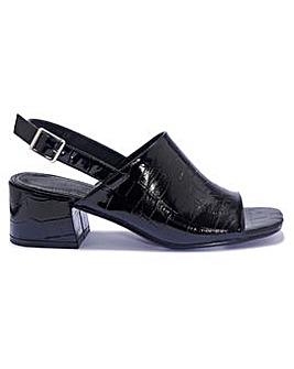Ankle Strap Mule Standard Fit