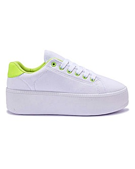 Neon Lace Ups Standard Fit