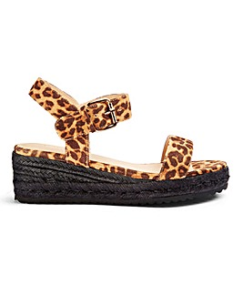 Indra Low Espadrille Wedge Wide Fit