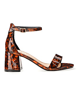 Cammy Block Heel Sandals Wide Fit