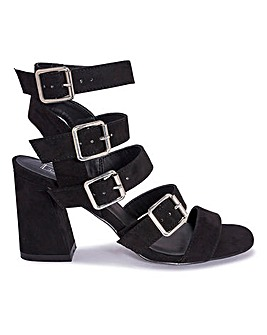 Strappy Block Heel Standard Fit