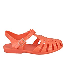 Flat Jelly Shoes Standard Fit
