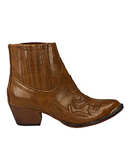 Western Ankle Boot Standard Fit
