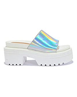 Holographic Chunky Slide Standard Fit