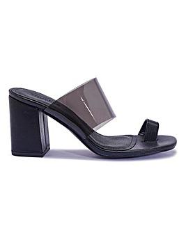 Toe Post Block Heels Standard Fit