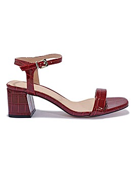 Square Toe Sandals Standard Fit
