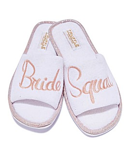 Bride Squad Slipper Standard Fit