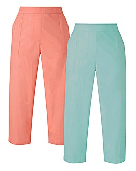 Pack of 2 Woven Trousers
