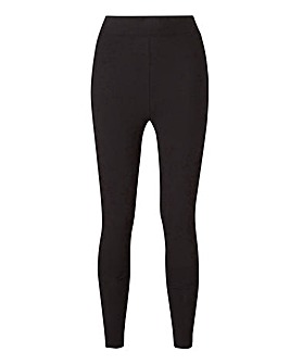 High Waist Cotton Rich Leggings