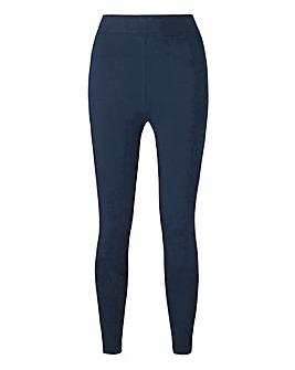 High Waist Cotton Rich Jersey Leggings Regular