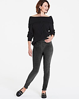 Cord Stretch Leggings