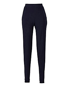 Stretch Jersey Tapered Trouser Reg