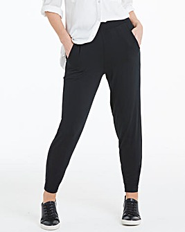 Stretch Jersey Tapered Trousers