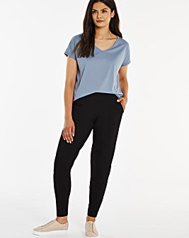 Stretch Jersey Jogger Tapered Trousers Regular