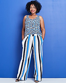 9ad9d98344 White | Wide Leg | Trousers | Trousers & Shorts | Womens | Ambrose ...