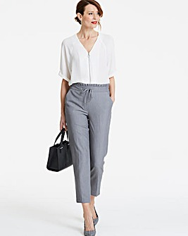 Tailored Tapered Leg Trouser Petite