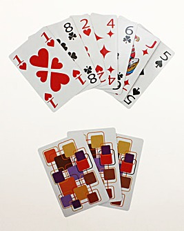 Giant Print Playing Cards