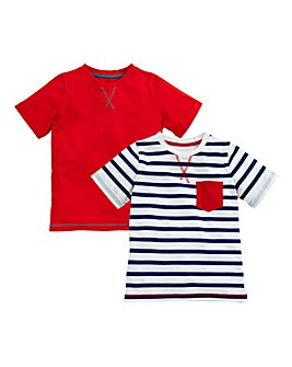 KD MINI Boys Pack of Two T Shirts