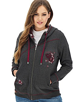 Joe Browns In The Stars Full Zip Hoodie