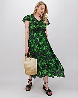 Joe Browns Tropical Palm Dress