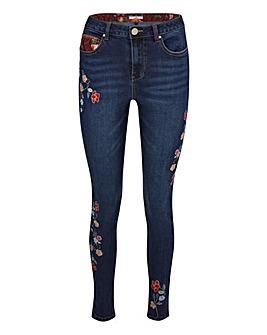 Joe Browns Floral Slim Leg Jeans