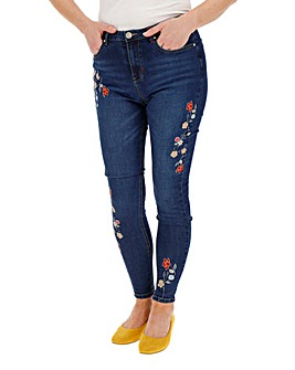 Joe Browns Floral Slim Leg Jeans
