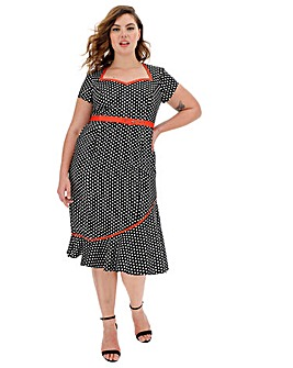 Joe Browns The Bop Polka Dot Dress