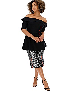 Joe Browns Remarkable Peplum Top