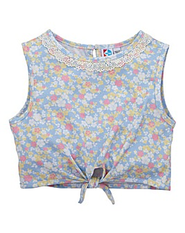 KD MINI Girl Tied Crop Top