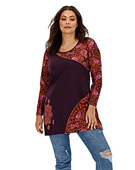 Joe Browns Funky Floral Tunic