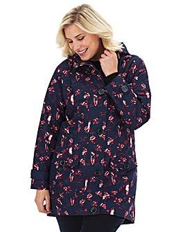 Joe Browns Floral Hooded Coat