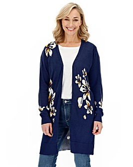 Joe Browns Floral Print Cardigan