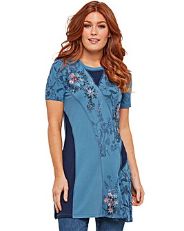 Joe Browns Floral Applique Tunic