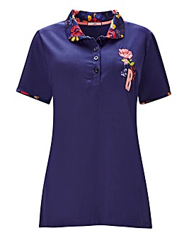 Joe Browns Floral Polo Top